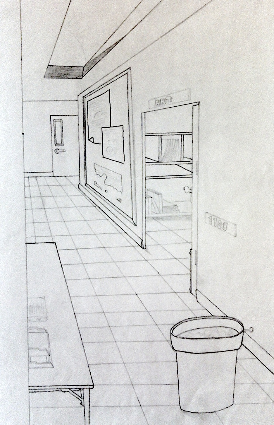 Interior Space Perspective Drawing Elam S Art History