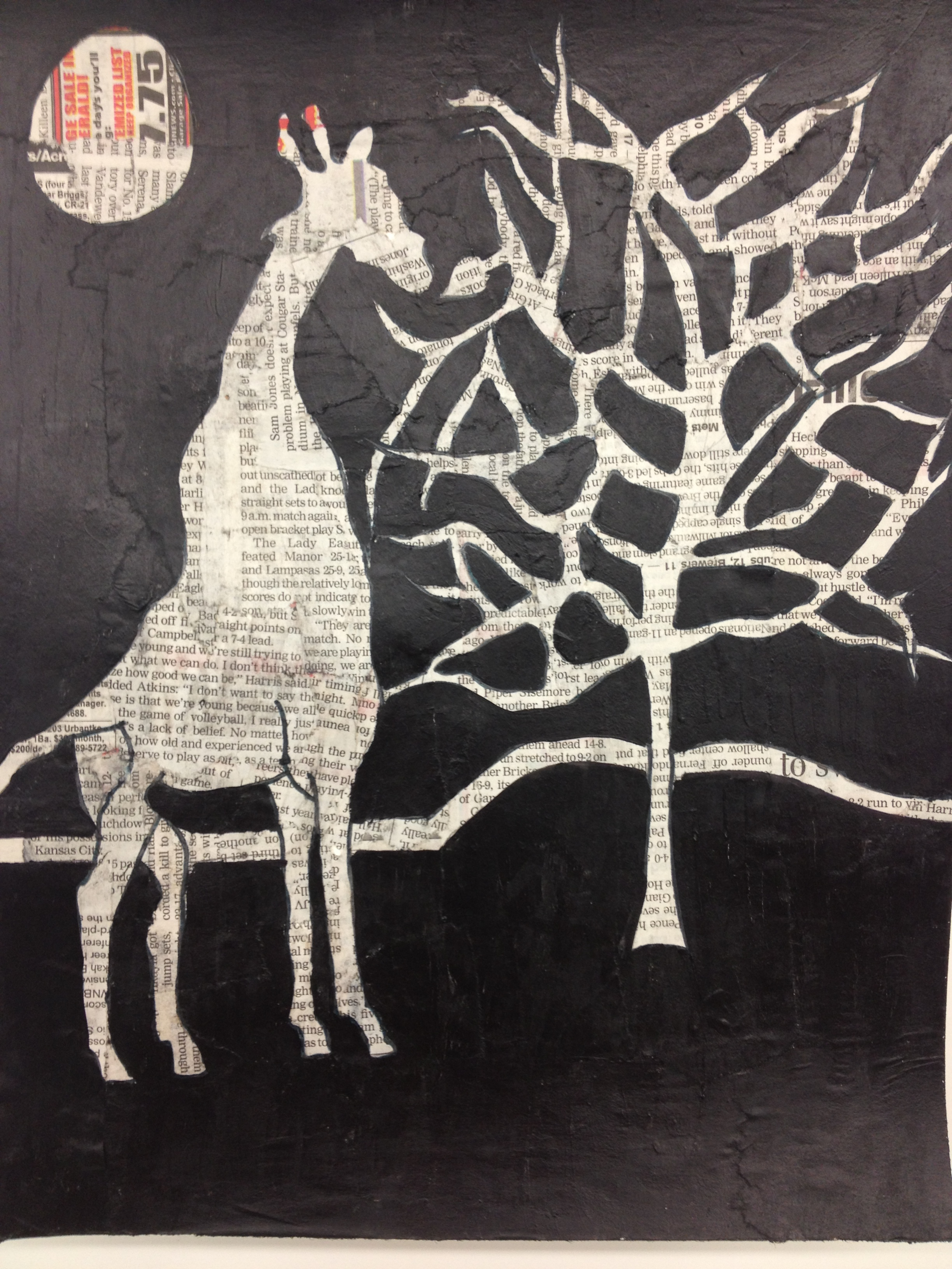 Negative Space Painting Elam S Art History