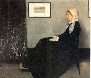 Whistler, Arrangement in Black and Gray, The Artist's Mother,