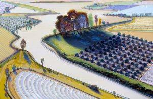 Thiebaud, Flatland River
