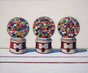 Thiebaud, Three Machines