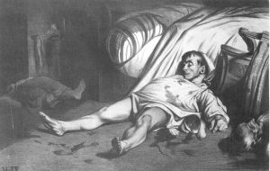 Daumier, Rue Transonain, Lithograph