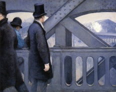 Caillebotte, On the Europe Bridge, 1876-77