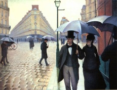 Caillebotte, Paris Street, Rainy Day, 1877