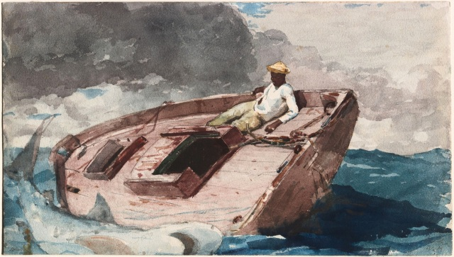 Homer, The Gulf Stream (watercolor)