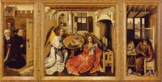 Master of Flemalle, Merode Altarpiece (open) 1428