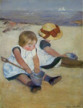 Cassatt, Children on the Beach, 1885, NG, DC