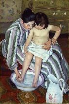 Cassatt, The Bath 1892