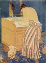 Cassatt, Woman Bathing, 1891