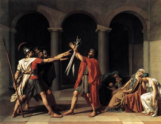 david-oath-of-the-horatii-1784