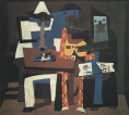Picasso, Three Musicians