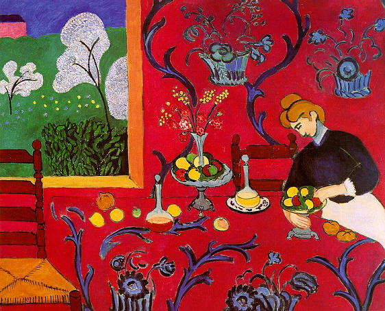 Matisse, Red Room 1909