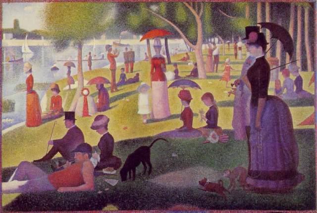 Seurat, A Sunday on La Grande Jatte 1886