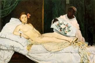 Olympia, by Manet
