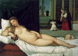 Venus of Urbino, by Titian