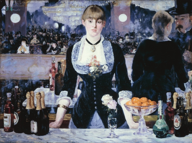 Manet, Bar at the Follies Bergere 1882